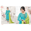 Full Sleeve Georgette Fancy Ladies Suit