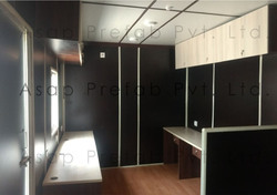 Furnished Container Office