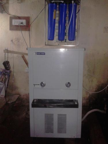 Blue Star Water Cooler With 50 Lph Ro Gt 80 L Hr Rs 54000