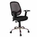 Slim Black Office Chair