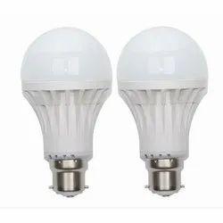 Ceramic Round Chinese LED Bulb, 220-240 V, Base Type: E40