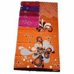 Orange Casual Wear Damini Nighty Cotton Fabric