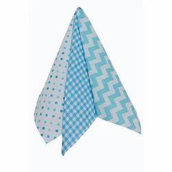 Blue And White Kitchen Cotton Napkin