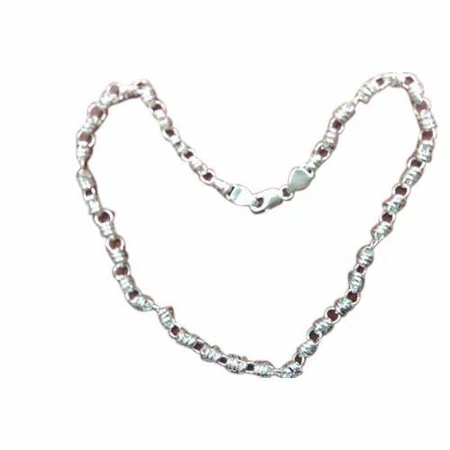 mens silver neck chain silver jewelry ornaments shree. Black Bedroom Furniture Sets. Home Design Ideas
