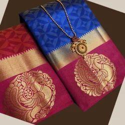 Women's Printed Kanjivaram Saree