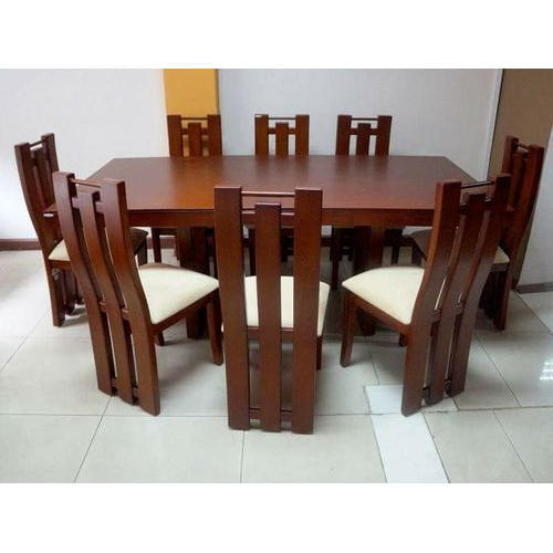 Wooden 8 Seater Dining Table Set 7875ba37ea16
