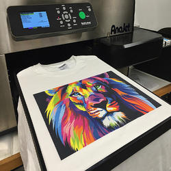 Direct Logo Printing On T-Shirts
