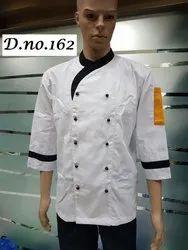 White Chef Coat - CC-34