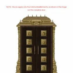Traditional Pooja Room Doors