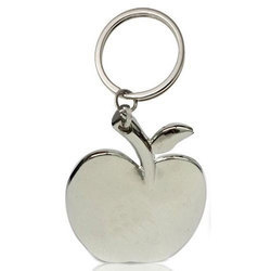Apple Shape Metal Keychain