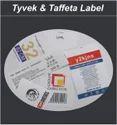 Tyvek & Taffeta Label