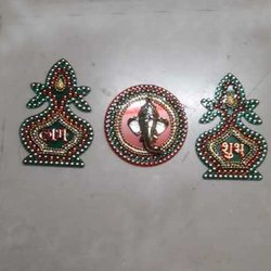 Multicolor Handicraft Diwali acrylic, Size: 4x4 Inch, Packaging Type: Box