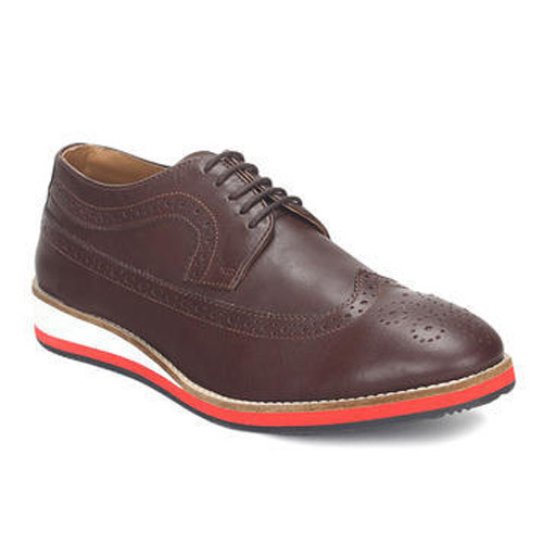 ef34bc232259 Brown Men Leather Casual Shoes, Rs 1300 /pair, Oktaport ...