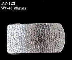 Plain JAIPUR 92.5 Sterling Silver Belt Buckle