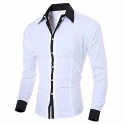 Cotton Plain Mens Shirt