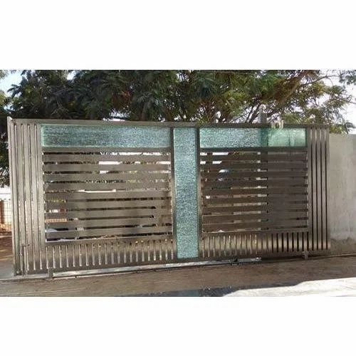 SS Domestic Sliding Gate