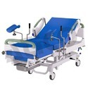 Blue Adjustable Hydraulic Delivery Bed