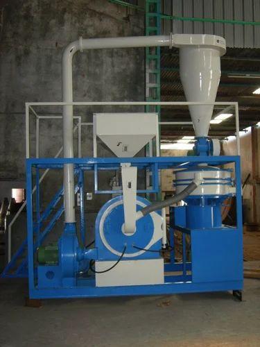 Plastic Pulveriser Single Mill