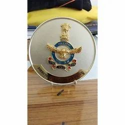 Die Casting And Etching Indian Air Force Medals