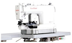High Speed, 1-Needle, Needle Feed, Bottom Hemming Sewing Mac