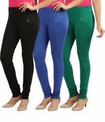 SBF Plain Ladies Lycra Leggings