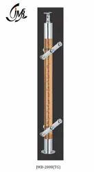 Designer Glass Railing Acrylic Pillar (Baluster)