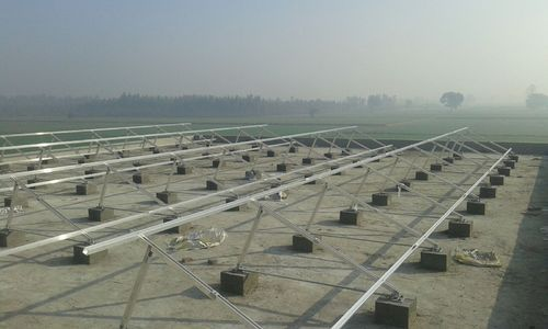 Aluminum Solar Module Mounting Structure