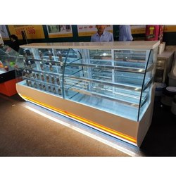 Stainless Steel SS Sweet Display Counter