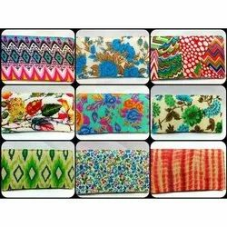 Cotton Printed Ladies Hand Clutch, Size: 4.5x10 Inch