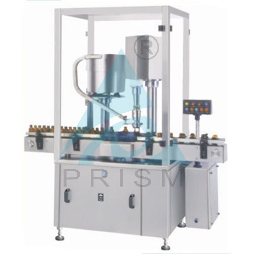 Prism Automatic Single Head Screw Capping Machine
