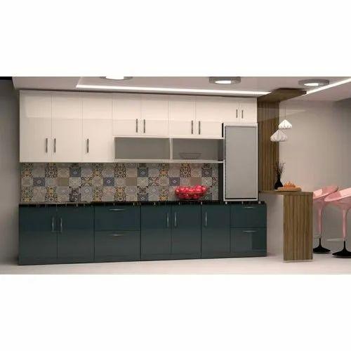 Plywood Modern Kitchen