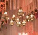 Hexagon Shape Hanging Lamps