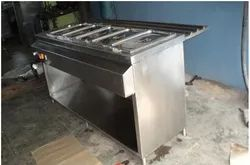 Stainless Steel Hot Bain Marie Five Container