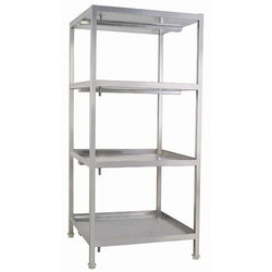 5 to 6 feet Polished Steel Rack for Industrial