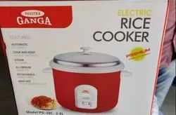 Red Ganga Electric Rice Cookers, Capacity(Litre): 2.8 L , Model Name/Number-PG 28C, 1000 Watt, Warranty: 5 Years