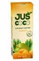 Yellow Mango Juice With Coconut Water Refreshing Drinks