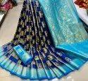 Banarasi Silk Saree With Zari Work