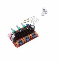 TPA3116D2 100W Channel Digital Power Audio Stereo Amplifier Board and DC 12-24V AMP Module