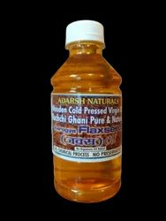 Cold Press Flaxseed Oil, Packaging Type: Bottle