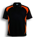 Orange and Black Colour Sports Dress