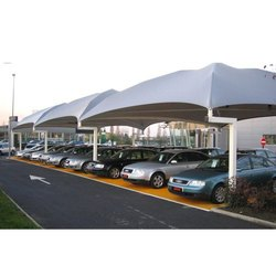Car Parking Tensile Roofing Structure