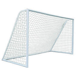 White Football Ground Covering Net