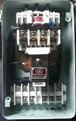 Direct on line starter with conactor