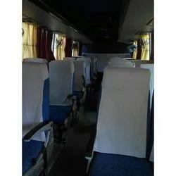 AC Mini Tempo Traveller Bus Service, Seating Capacity: 14 Seater