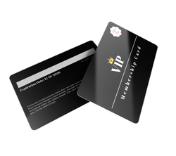 Multicolor PVC Metallic Membership/Loyalty Card, Size: 86 Mm X 55 Mm