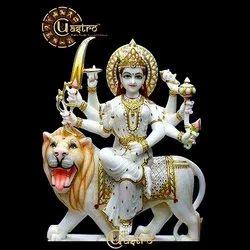Marble Durga Statue in Mumbai, मार्बल की दुर्गा की