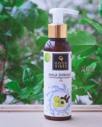 Herbal Natural Amla And Shikakai Hair Cleanser, Gel