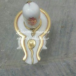 Shivling Marble Statue