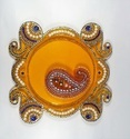 Teacandle Stand Or Pooja Thali Vati Size Of 4cm