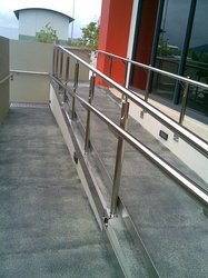 Cast Iron Stainless Steel Ramp Railing